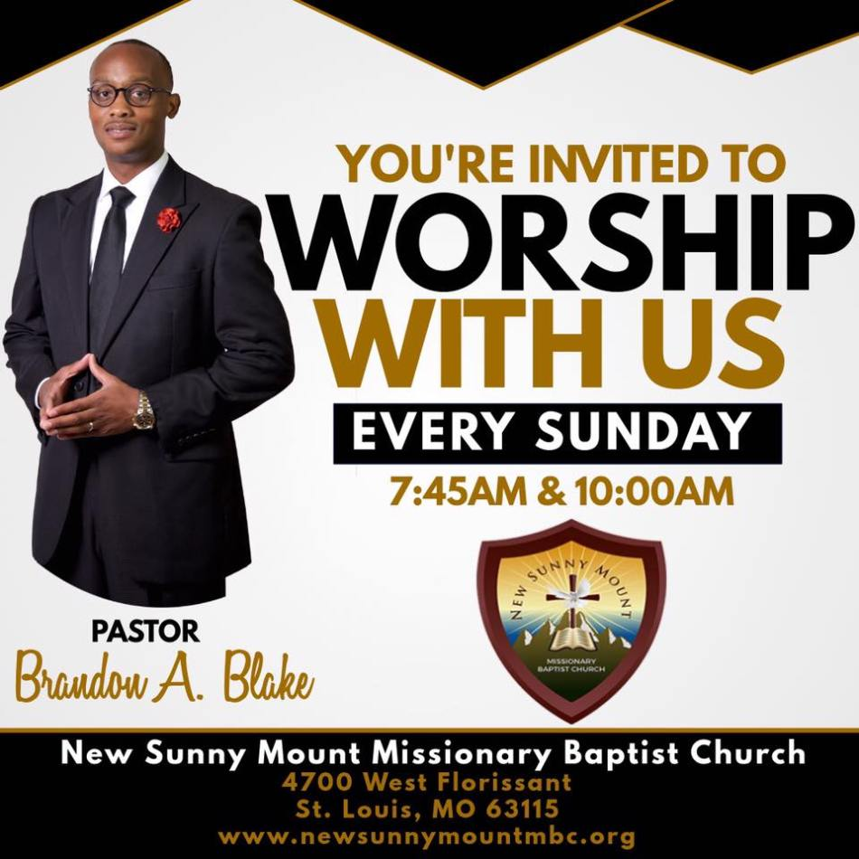 Weekly Announcements – New Sunny Mount Missionary Baptist Church